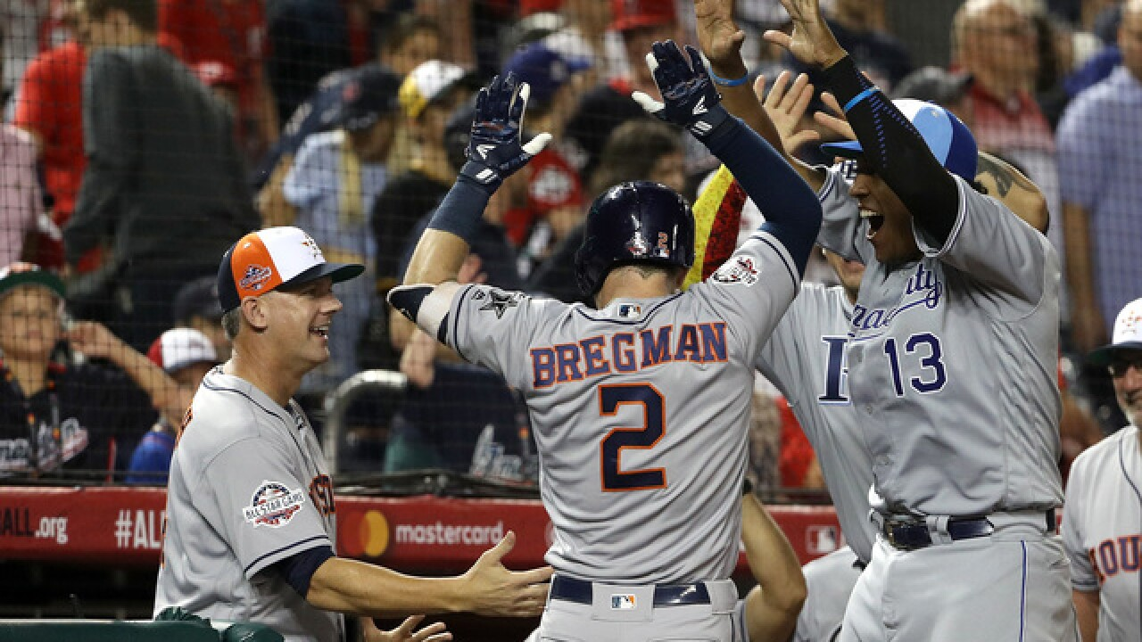 American League takes sixth straight All-Star game with in win extra innings