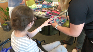 100+ homemade pillowcases donated to children at local hospital