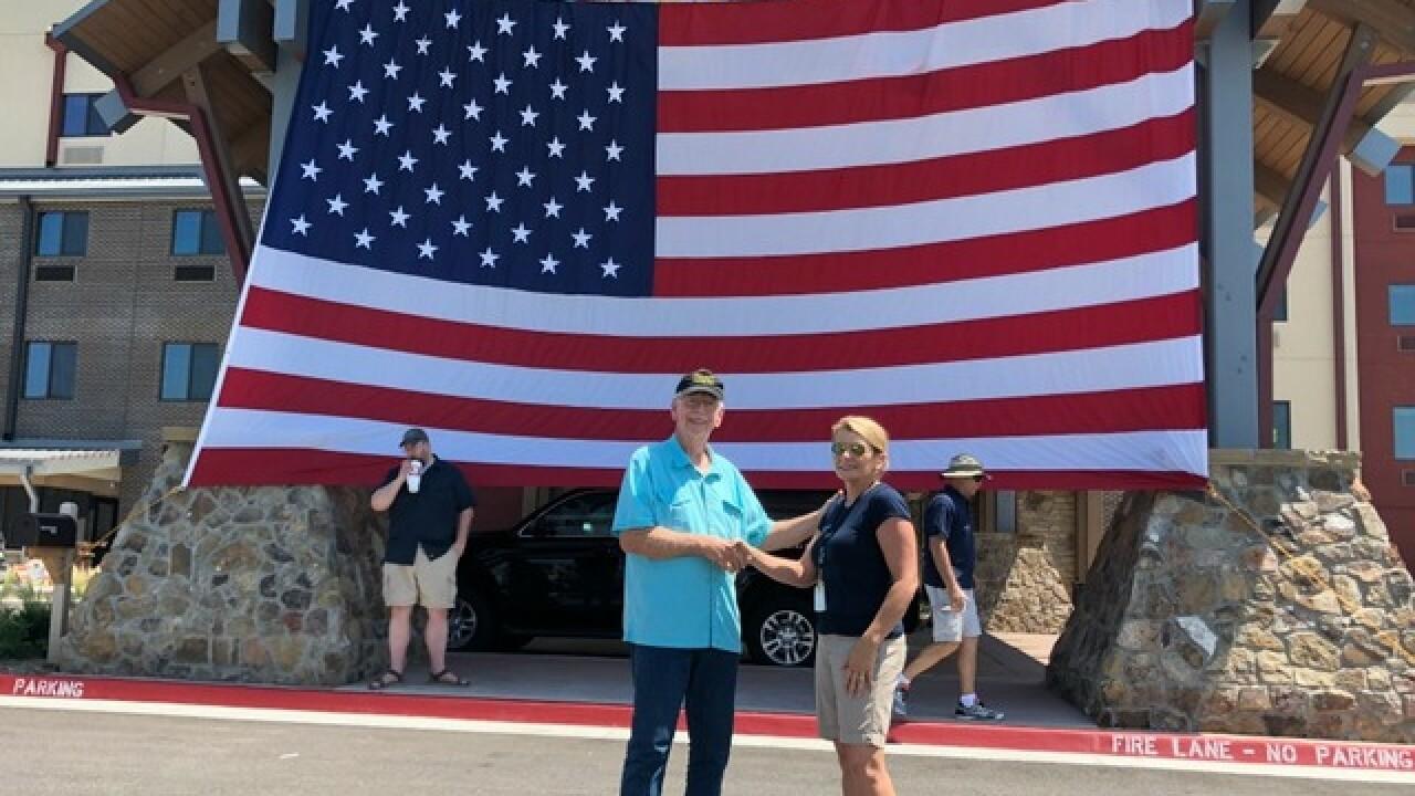 Food 2 Veterans food drive provides 2,500 meals