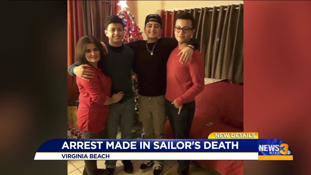 Family of fallen Sailor says arrest in case provides relief, but leaves them with questions
