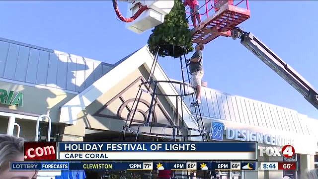 Cape Coral's Holiday Festival of Lights