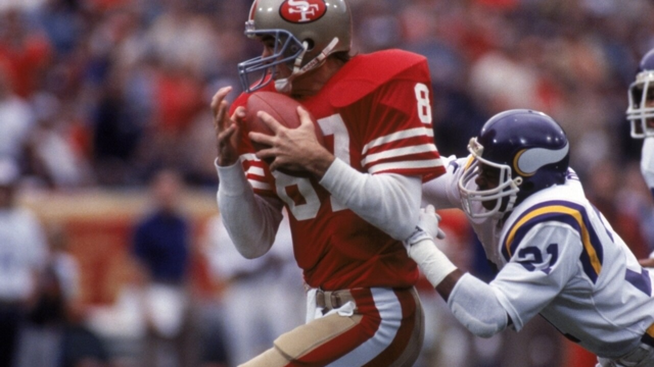 Former 49ers great Dwight Clark dies after battle with ALS