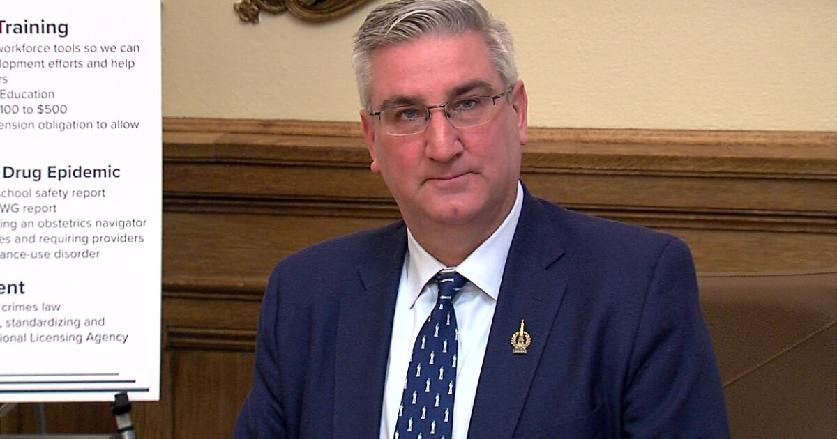 New poll shows Holcomb's approval ratings holding steady