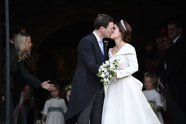Princess Eugenie Wedding.Princess Eugenie Marries Jack Brooksbank In Second Royal Wedding Of 2018