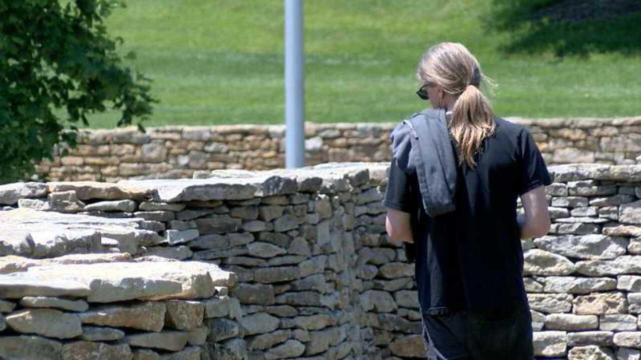 Walking Wall spectator