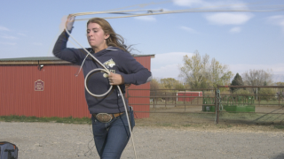 Paige Rasmussen blazing her own rodeo trail