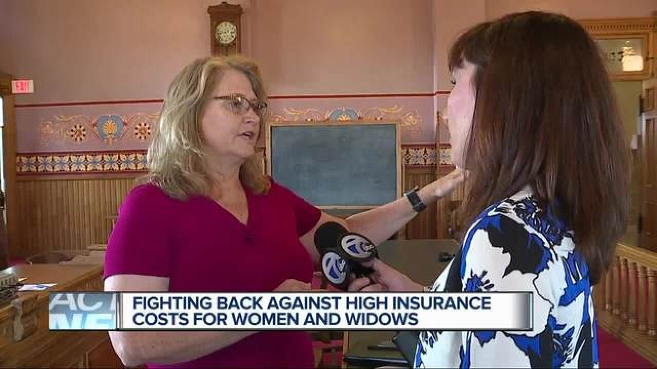 State rep asked why women pay more for insurance