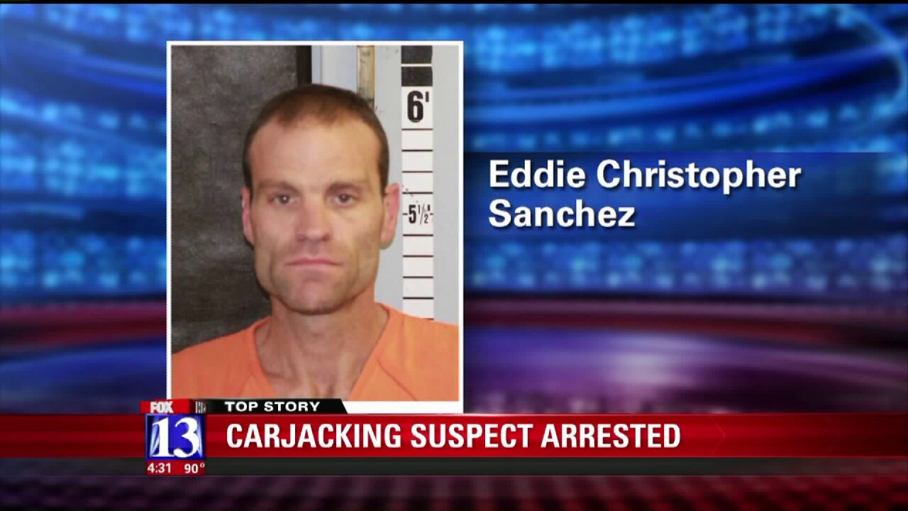 Fugitive from Montana arrested in Utah after carjacking spree ends with brief armedstandoff