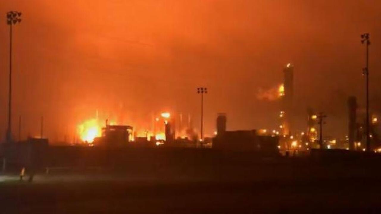 Explosion at Texas chemical plant blows out windows, leads to evacuations