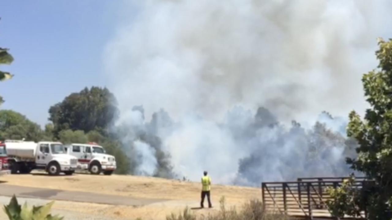 kit carson park fire escondido