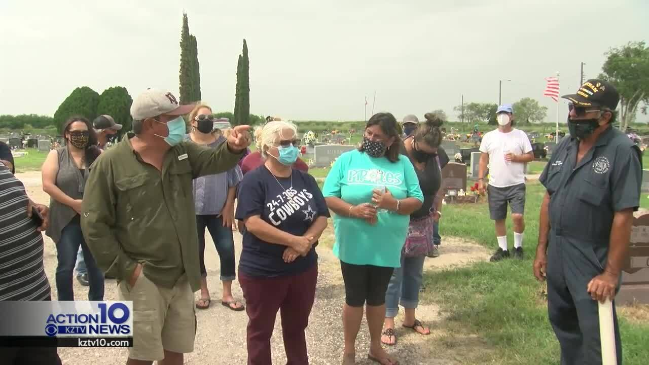 Troubleshooters helps to resolve dispute over cemetery adornments in Mathis
