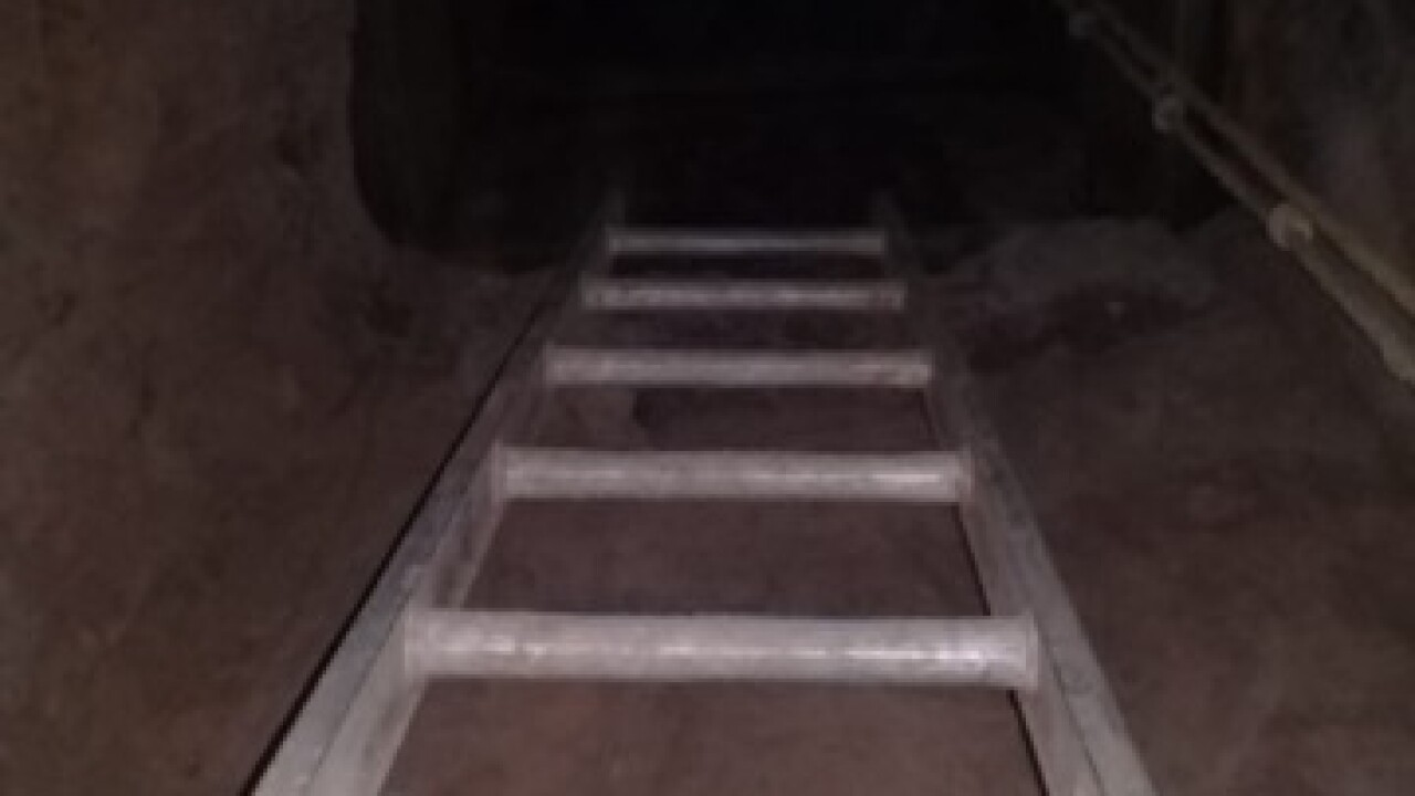 Cross-border tunnel found in Yuma