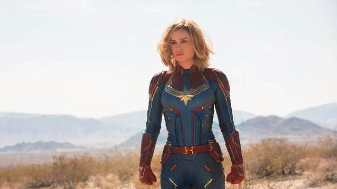 Watch the first trailer for 'Captain Marvel'