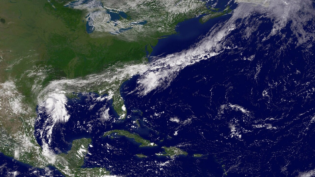 Tropical Storm Humberto Makes Ground On Gulf Coast