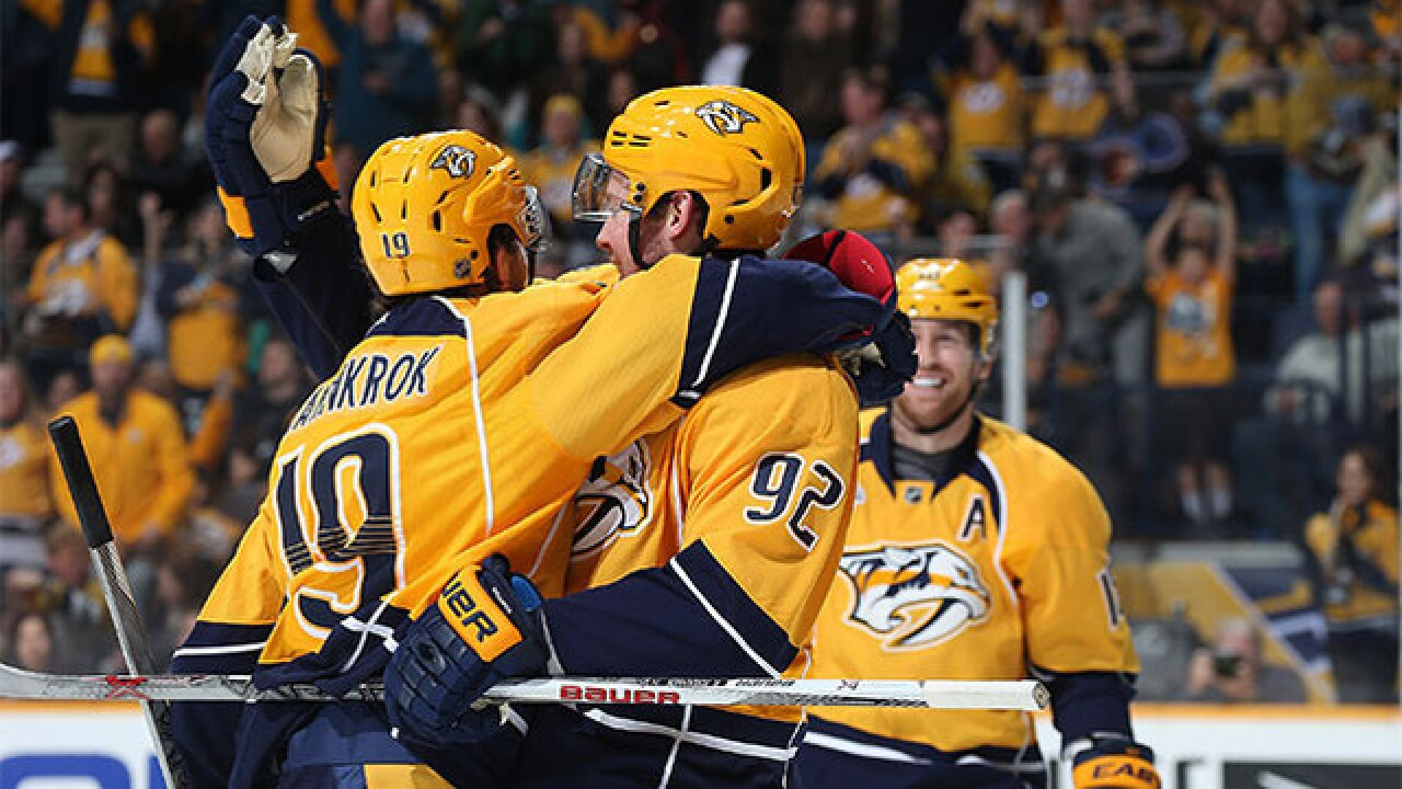 Ryan Johansen Signs 8-Year Contract With Preds