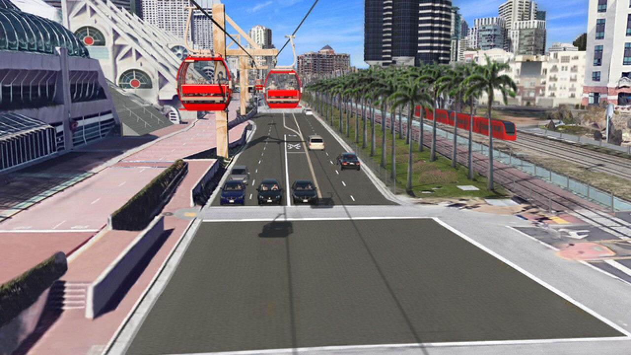 Study: Airport tram could bring riders downtown