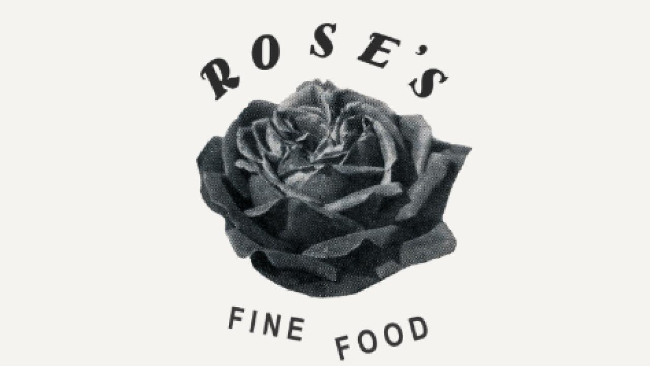 Rose's Fine Food logo