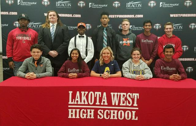 Local high school student-athletes make their college choices on National Signing Day