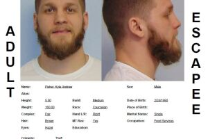 Kyle Fisher has been reported as a walkaway/escapee from the Great Falls Pre-Release Center.