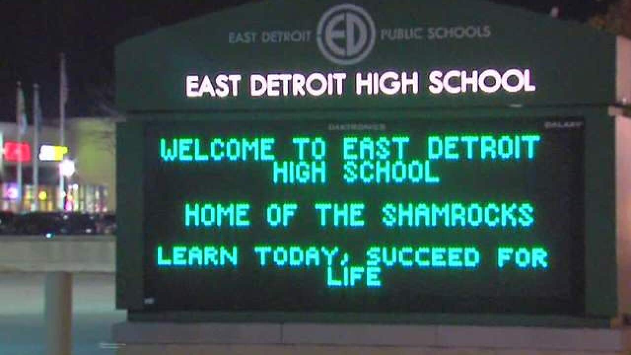 Lockdown lifted at East Detroit High School