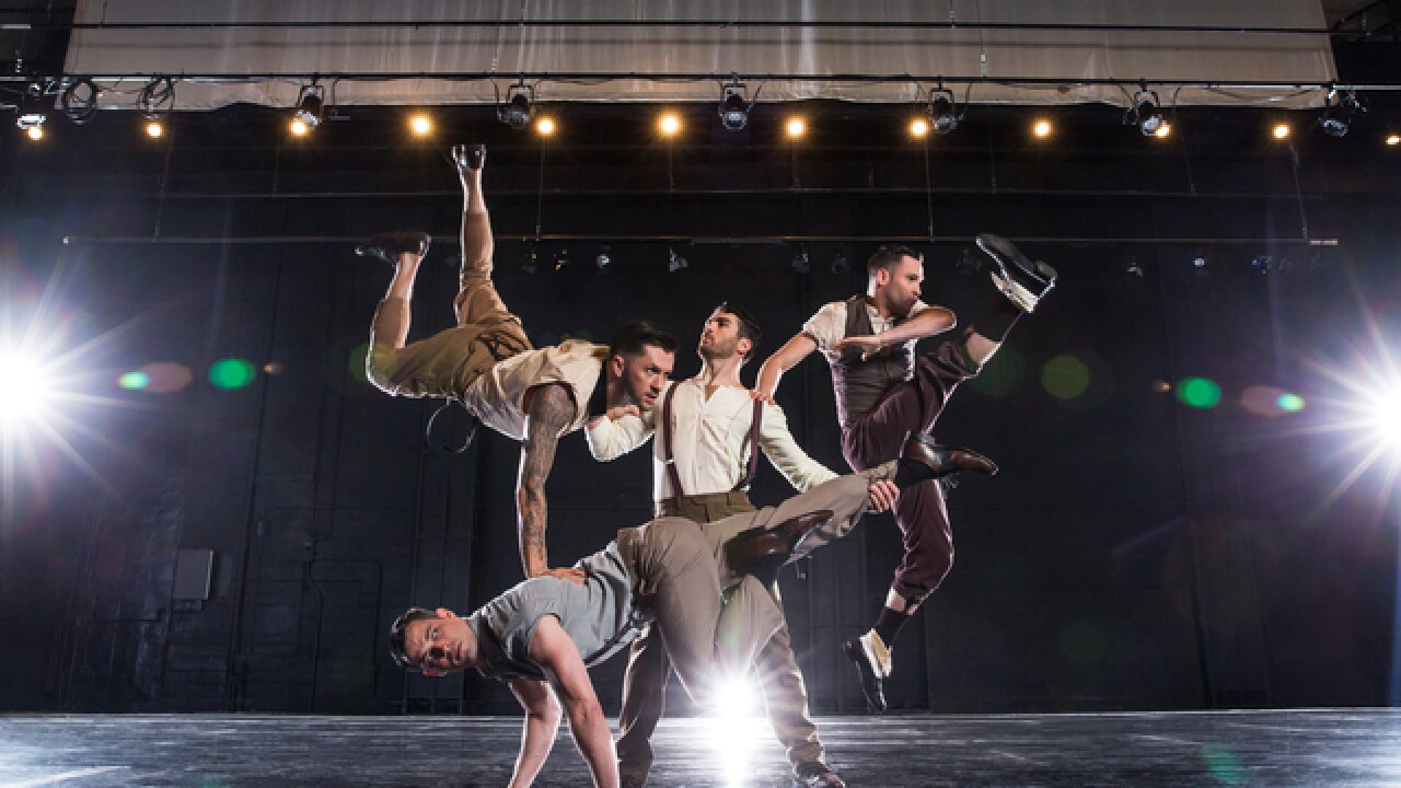 Travis Wall wins 2nd Emmy Award for 'Outstanding Choreography'