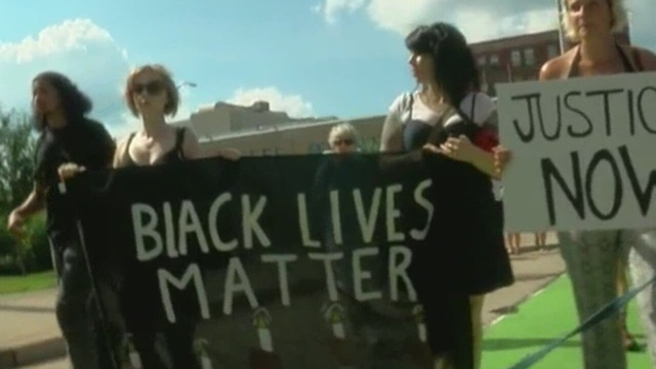 Black Lives Matter Cincy: 'We won't back down'