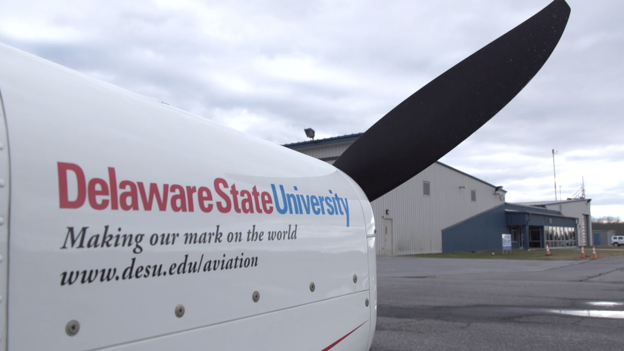Delaware State University boasts a diverse student body and is at the forefront of trying to diversify the nation's pilots, who fly both commercially and in the military.