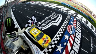 Ryan Blaney wins on roval when Jimmie Johnson wrecks out of playoffs