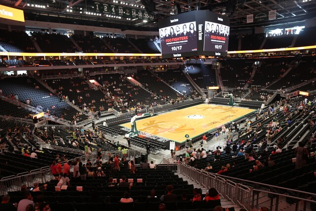 Bucks considered lakefront and Third Ward for Fiserv Forum location.