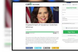 Petition to impeach Governor Gretchen Whitmer over proposal to raise gas tax has over 25,000 signatures