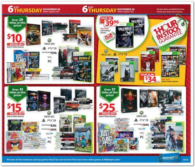Photos See The Entire 2013 Walmart Black Friday Ad