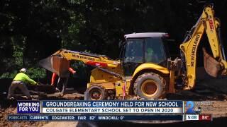 colgate elementary school groundbreaking
