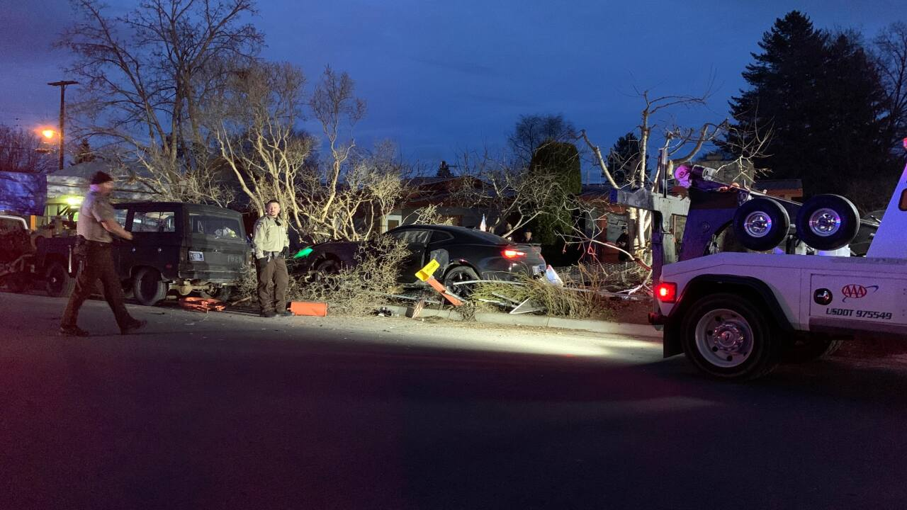 Police chase through Missoula ends in crash