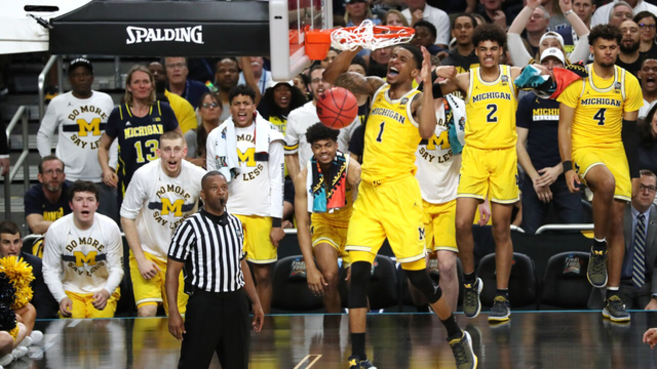 PHOTO GALLERY: Michigan beats Loyola in Final Four