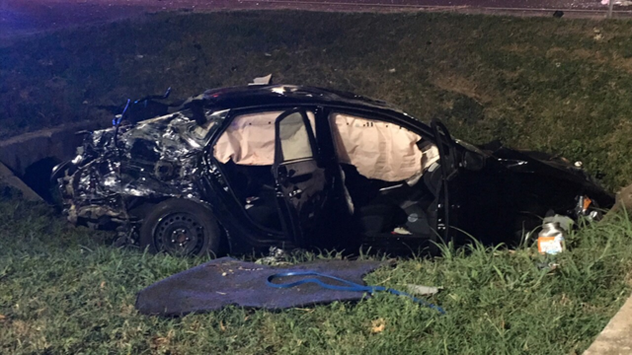 Driver Hospitalized In Bellevue Crash