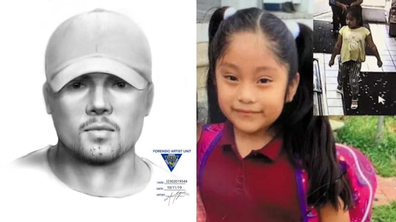 Sketch released in case of 5-year-old who disappeared from New Jersey park in September