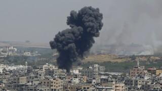 Israel Palestinians Gaza City