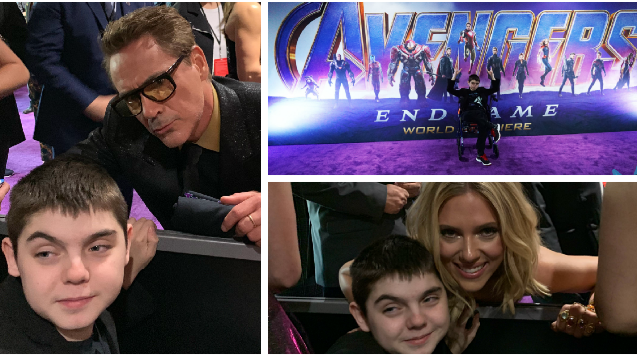 Virginia boy's wish led him to 'Avengers: Endgame' premiere in Los Angeles