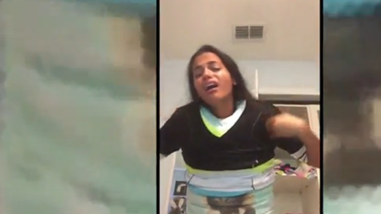 100 layers of clothes challenge goes hilariously wrong