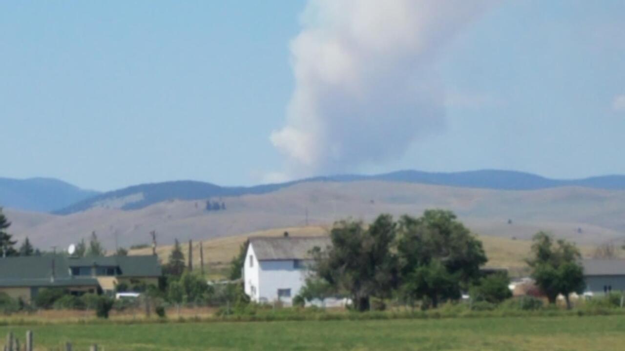 Nevada Mountain Fire