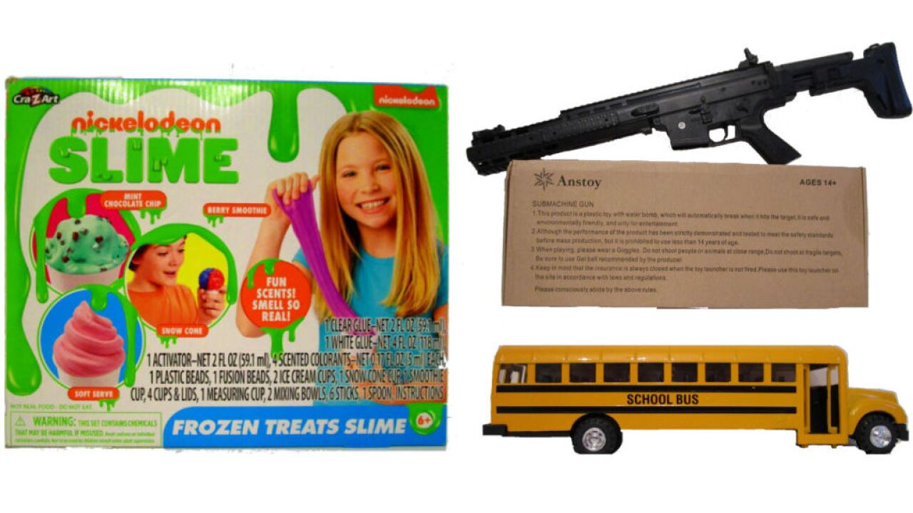 These dangerous items are the 'worst toys' of 2019, safety group says