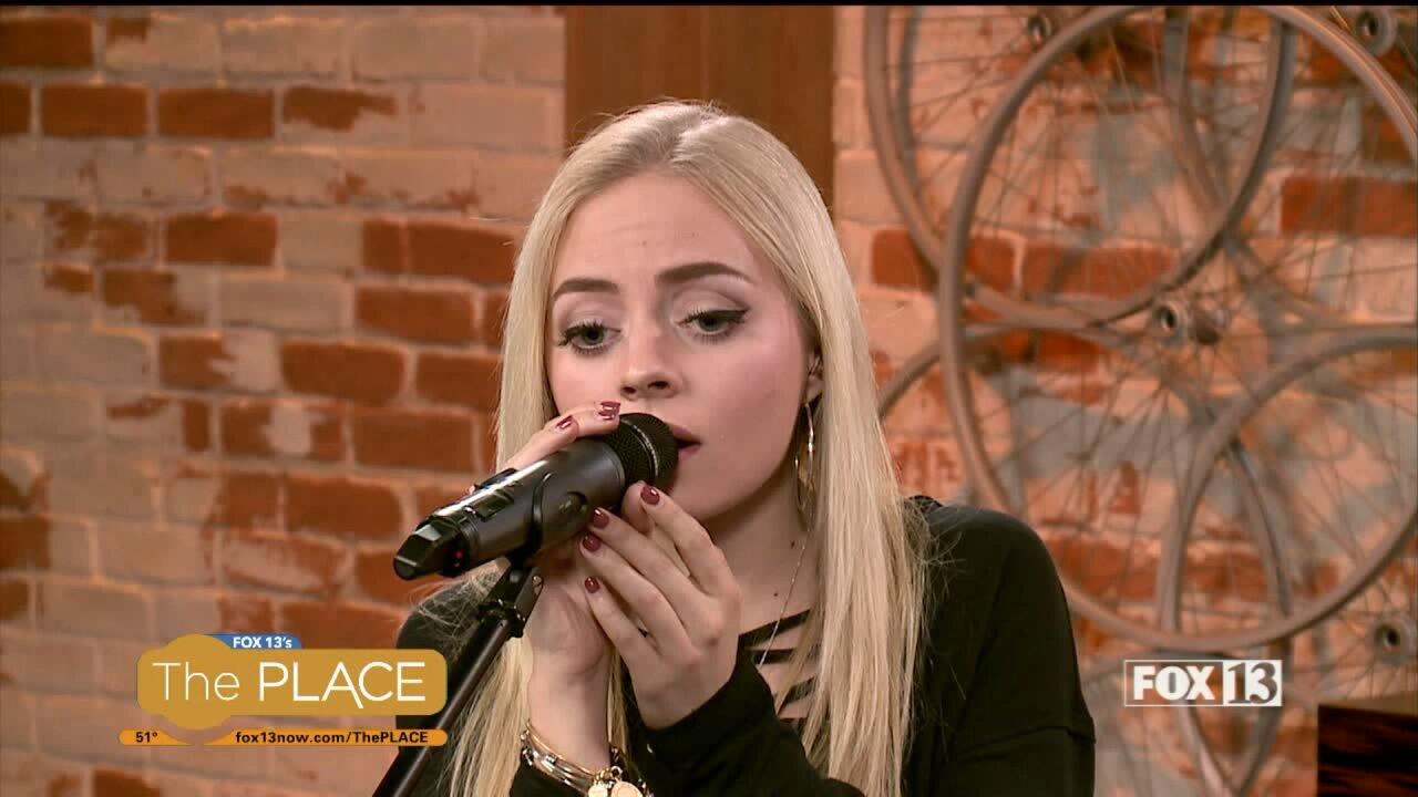 The Voice's Madilyn Paige performs