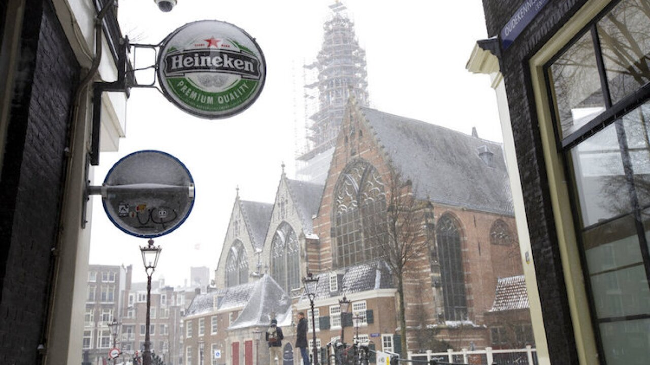Netherlands Earns Heineken
