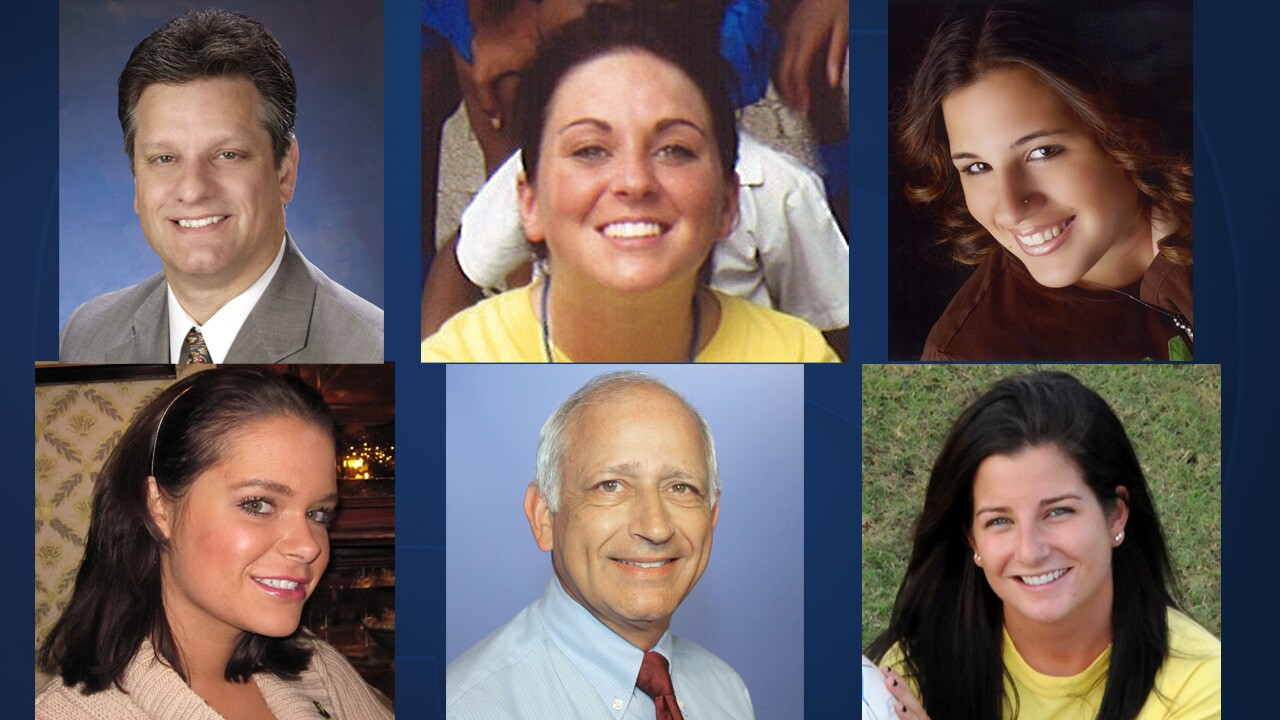 Top: Patrick Hartwick, Britney Gengel, Christine Gianacaci. Bottom: Courtney Hayes, Richard Bruno, Stephanie Crispinelli.