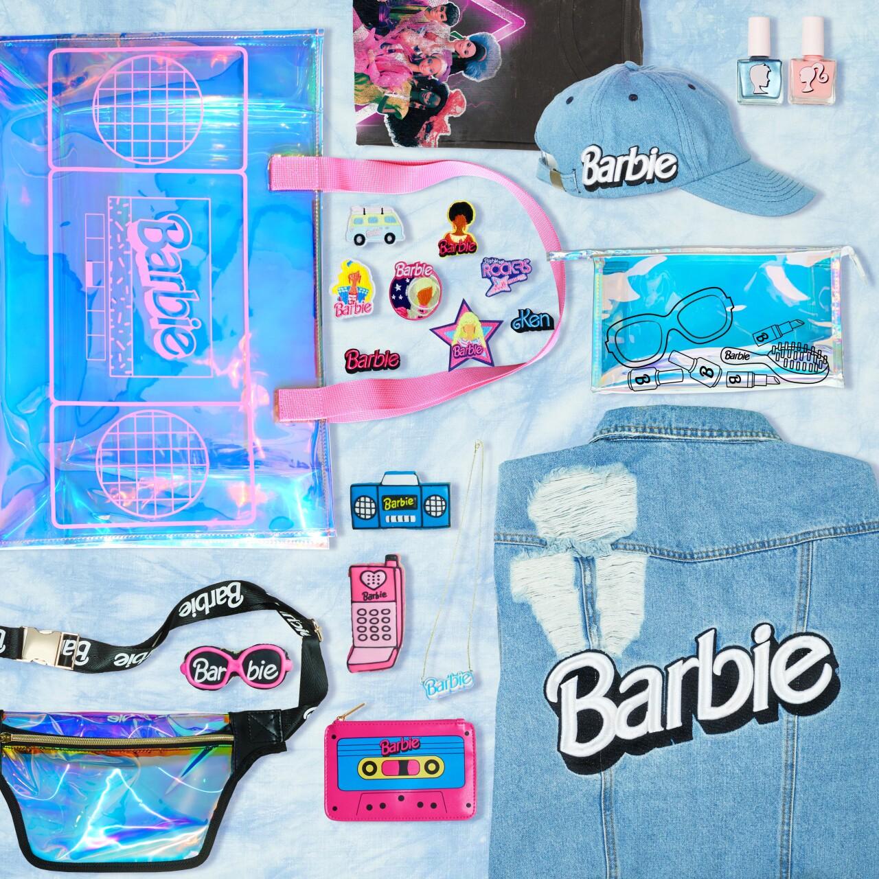 Barbie Merchandise - Pop-up truck