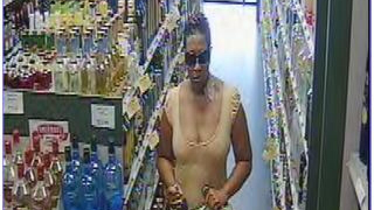 Woman wanted for robbing Virginia Beach liquor store