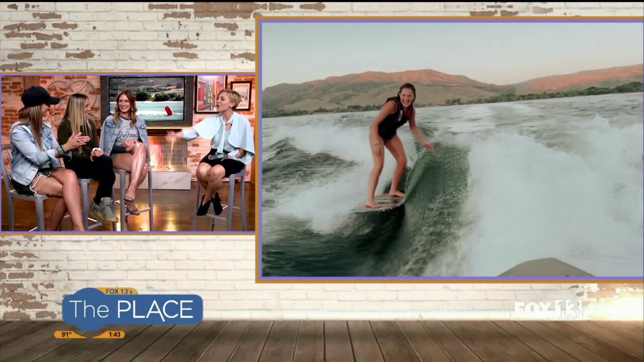 The world's no. 1 amateur wake-surfer is from Utah! Cheer her on at the world championship in Ogden Valley