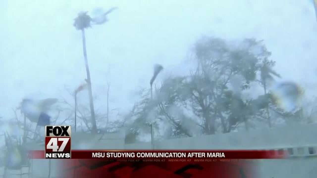 MSU to study communication after Hurricane Maria