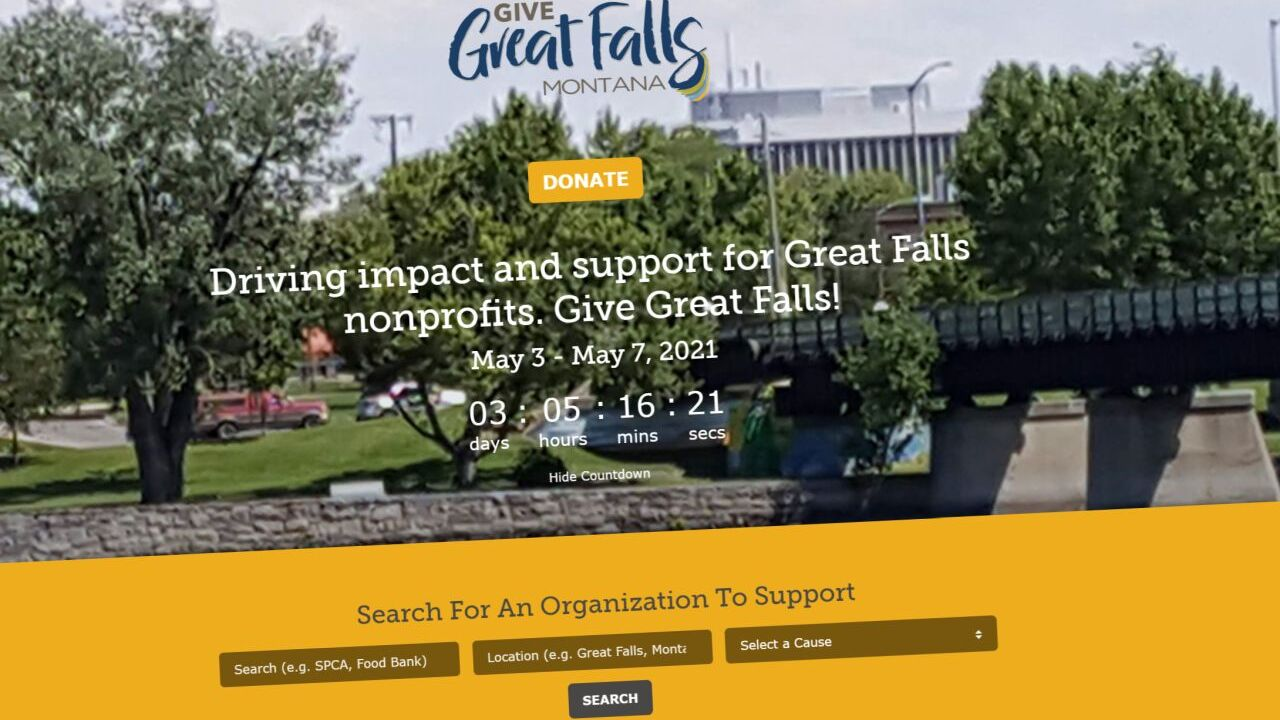 """Give Great Falls"""