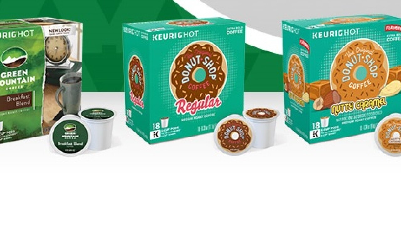 Get a free pack of Green Mountain K-Cups